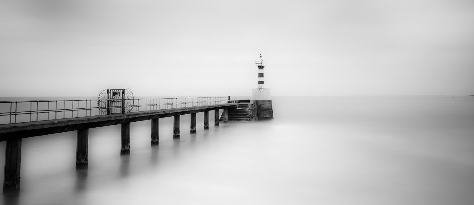 Amble Pier & Lighthouse