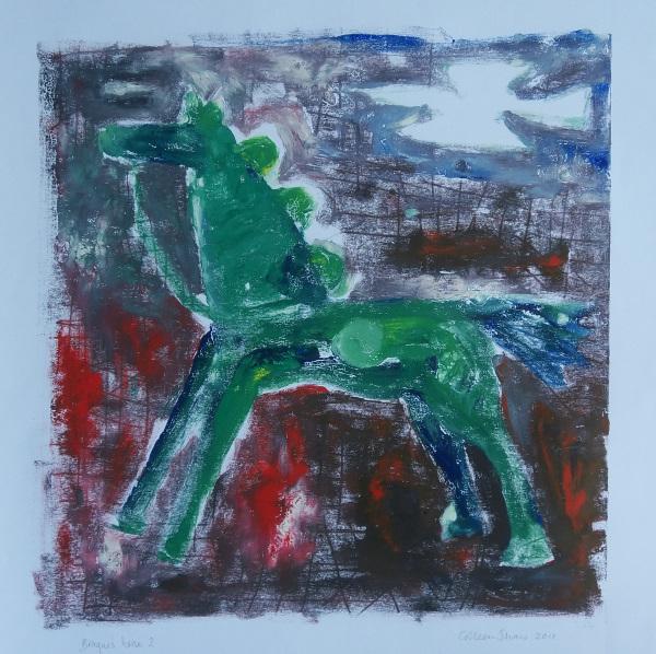 Braque's horse