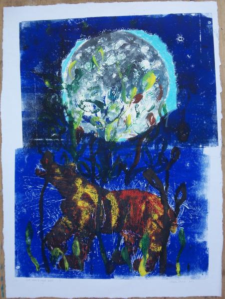 Moon & bear
