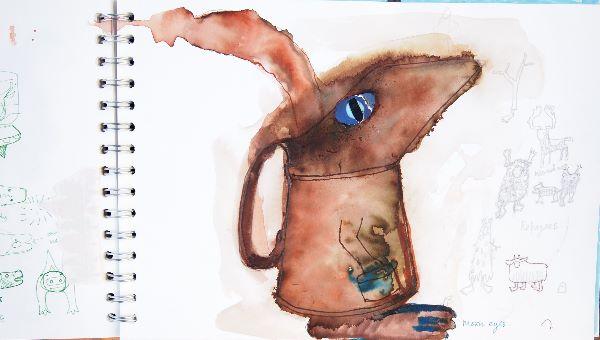 sketch book 9