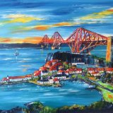 The Forth Bridge North Queensferry