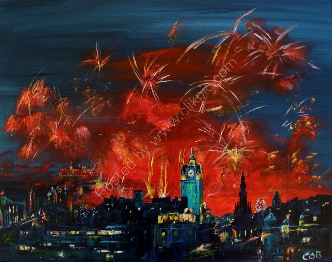 Edinburgh's festival fireworks