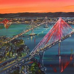 Bright Lights,  Queensferry Crossing