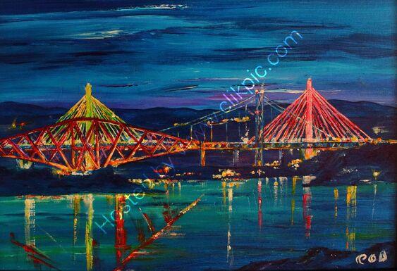 Forth Bridges Reflections