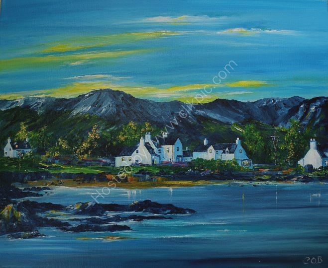 Plockton summer's evening