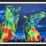 The Kelpies by Night