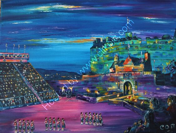 Edinburgh Tattoo art