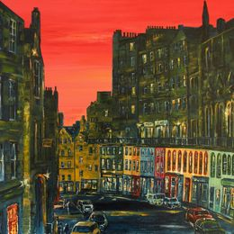 Red Sky Victoria Street
