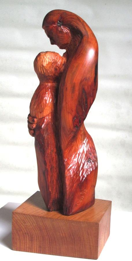 Mother & Child- Almond