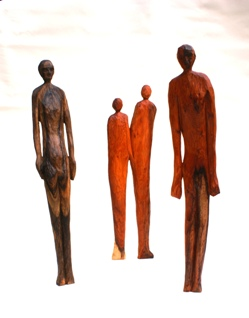 Standing People