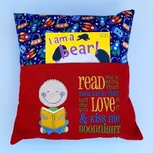 """""""Read me a story"""" kids cushion"""