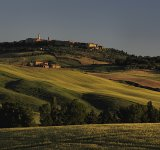Pienza, first light