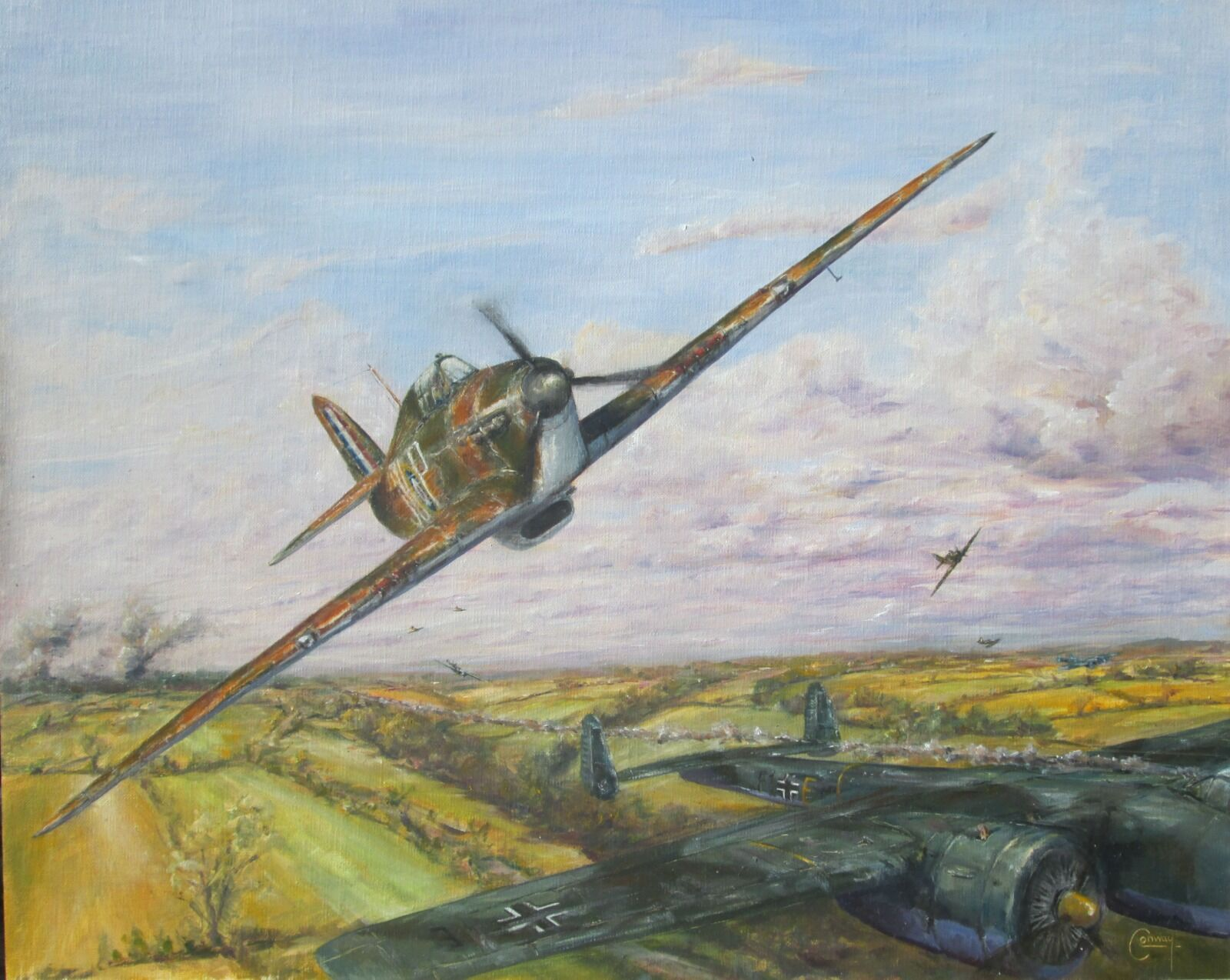 'Stirring up the Hornets' Nest'- Hurricanes of 'Treble One', No. 111 Squadron