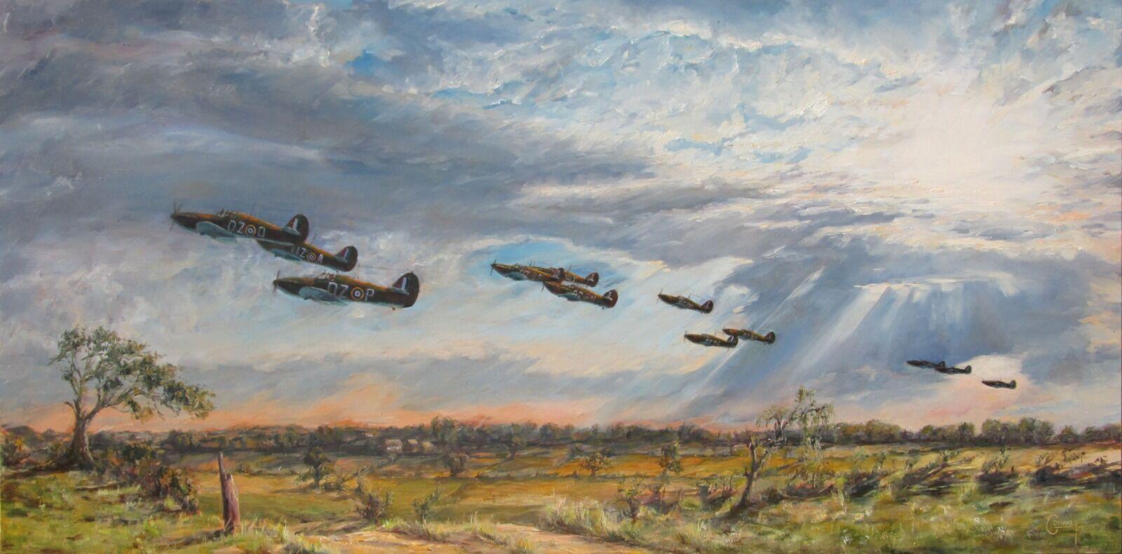 'Climbing to Defend' - Hurricanes of No. 151 Squadron