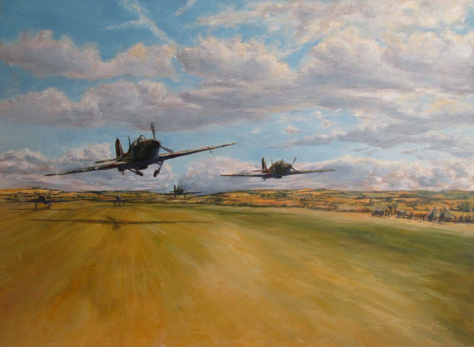 """One Squadron Scramble"" - Hurricanes of No. 1 Squadron"