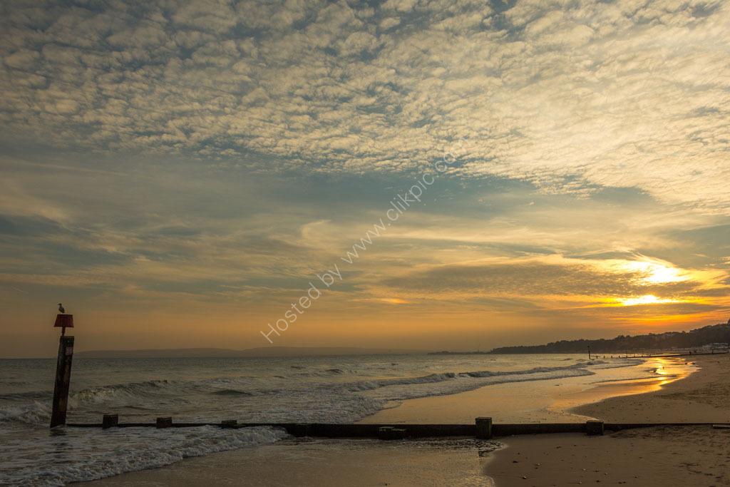 Bournemouth Beach.