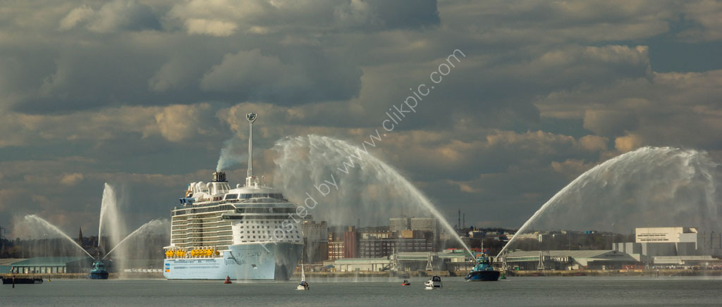 Ovation of the Seas, Southampton.