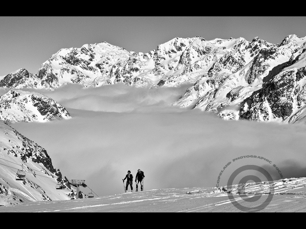 A day in the Alps by David Price - Commended