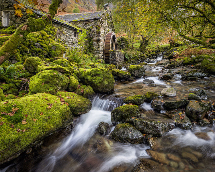 Borrowdale old mill by Adrian Gidney 2nd Place