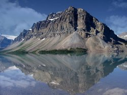 Bow Lake, Alberta by Derrick Young Highly Commended