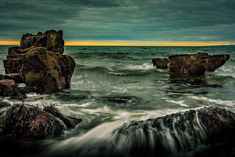 Commended - Rolling tide by Alan Wilson