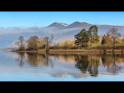 Derwentwater Spring Reflections by Ann Healey - Commended