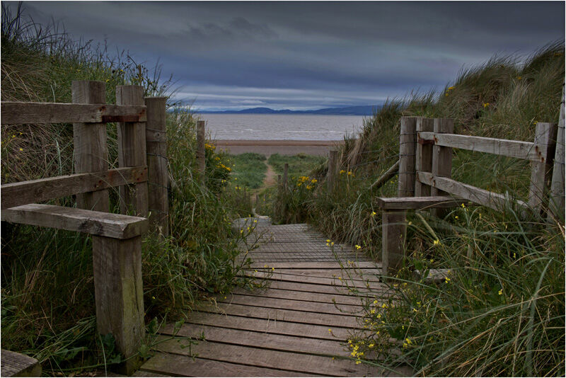 Down To The Beach by Chris Wood Highly Commended