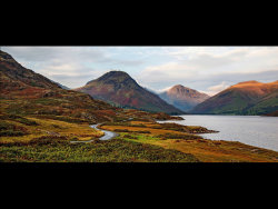 Early Autumn in Wasdale by Chris Wood - Commended
