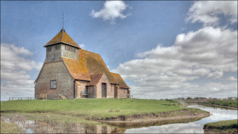 Fairfield Church by Fran Walding Commended