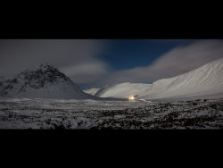 Glencoe by moonlight by Adrian Gidney - Commended