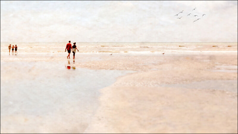 Impressions of the Seaside by Fran Walding Highly Commended