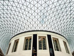 Inside the British Museum by Janice Carroll - 3rd place