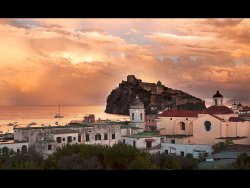 Ischia Sunset by Janice Carroll - 3rd place