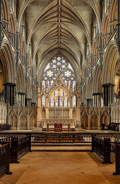 Lincoln Cathedral by David Price 18pts