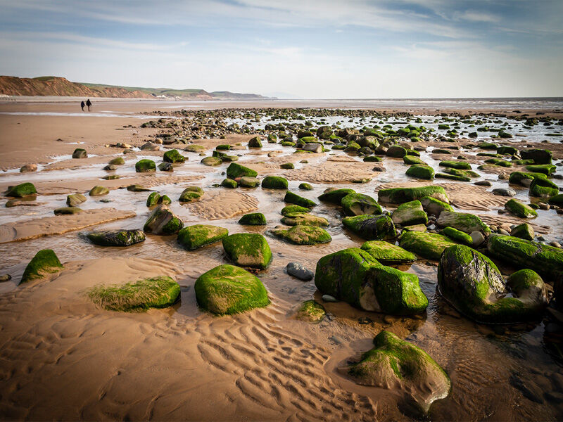 Low Tide at St Bees by Derrick Young Commended