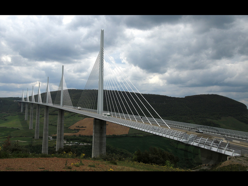 Millau Viaduct by Pat Weir - Commended