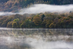 Mist over Loweswater by Nick Ford