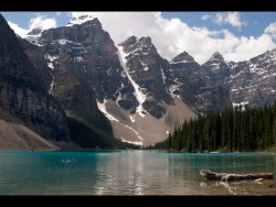 Moraine Lake,Alberta by Derrick Young - Highly Commended