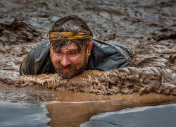 Mud Bath by David Price - 1st place