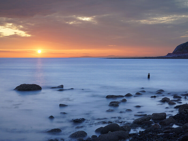 Parton Sunset by Ian McConnell Commended