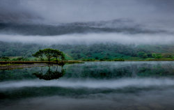 Rolling mist over Crummock by Alan Wilson [16]