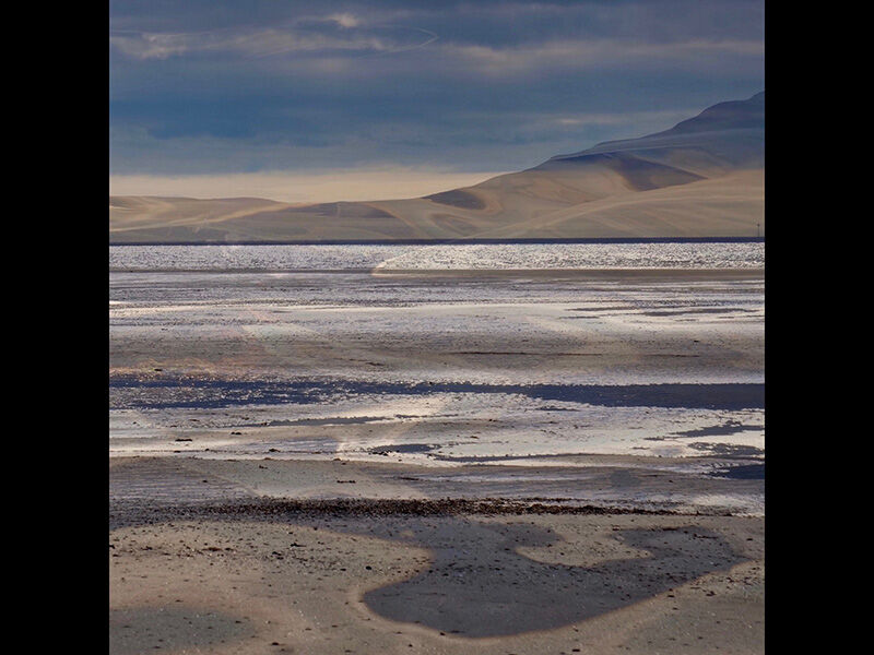 Solway Sands by Linda Duncalf Highly Commended