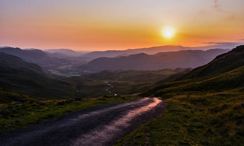 Sunset over Eskdale by Vicki Bebington - Commended