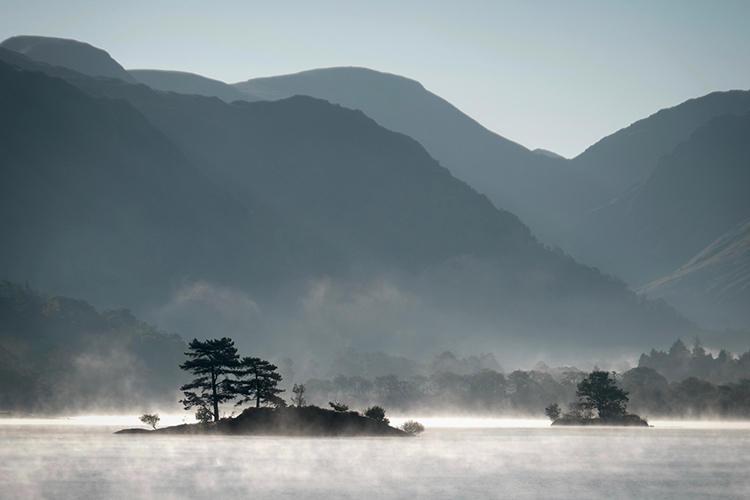 Ullswater Mist by Linda Duncalf - Commended
