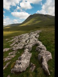 White Scar, Ingleborough by Adrian Gidney - Highly Commended