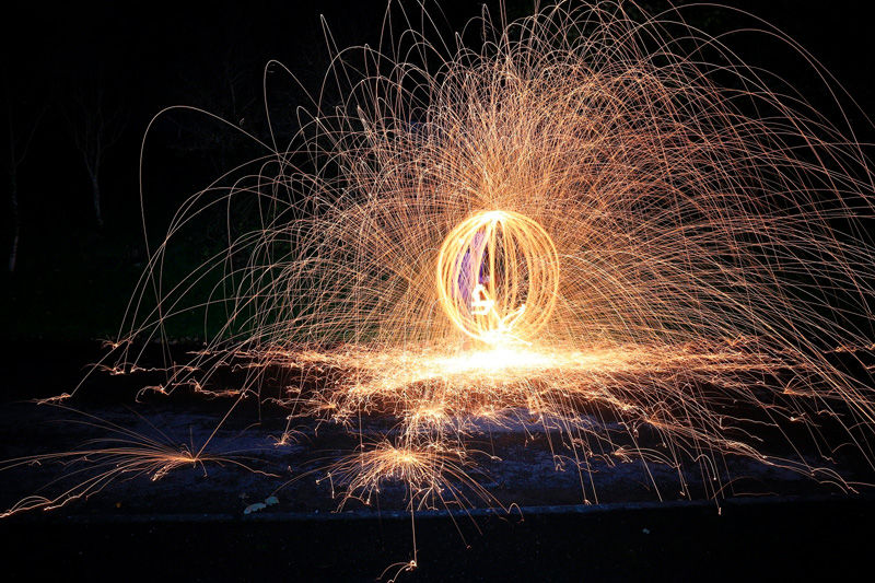 Wire wool by John Kemp - Highly Commended