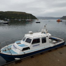 A boat in Portree