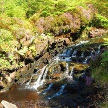 waterfall on the Isle of Raasay Near Dun Caan Volcano