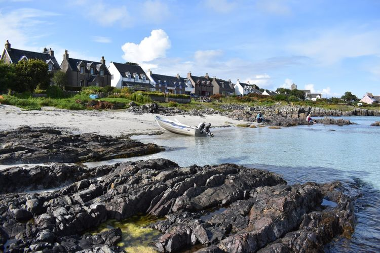 Harbours beach on Iona