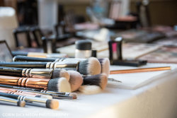 Behind the Scenes - Makeup Brushes